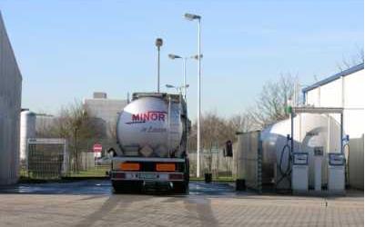 Tankstelle-Spedition-Minor Fachspedition für Flüssigtransporte