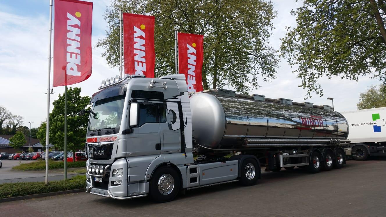 Lebensmitteltransporte_Spedition Minor Fachspedition für Flüssigtransporte